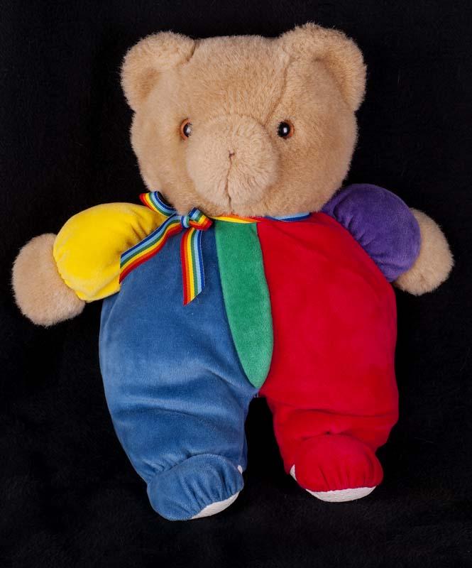 Le Chat Noir Boutique: Eden Rainbow Color Teddy Bear Lovey ...
