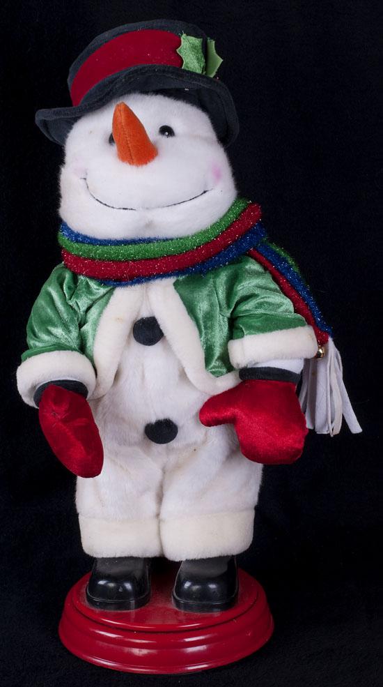 Le Chat Noir Boutique: Gemmy SNOWMAN Singing Animated Christmas ...