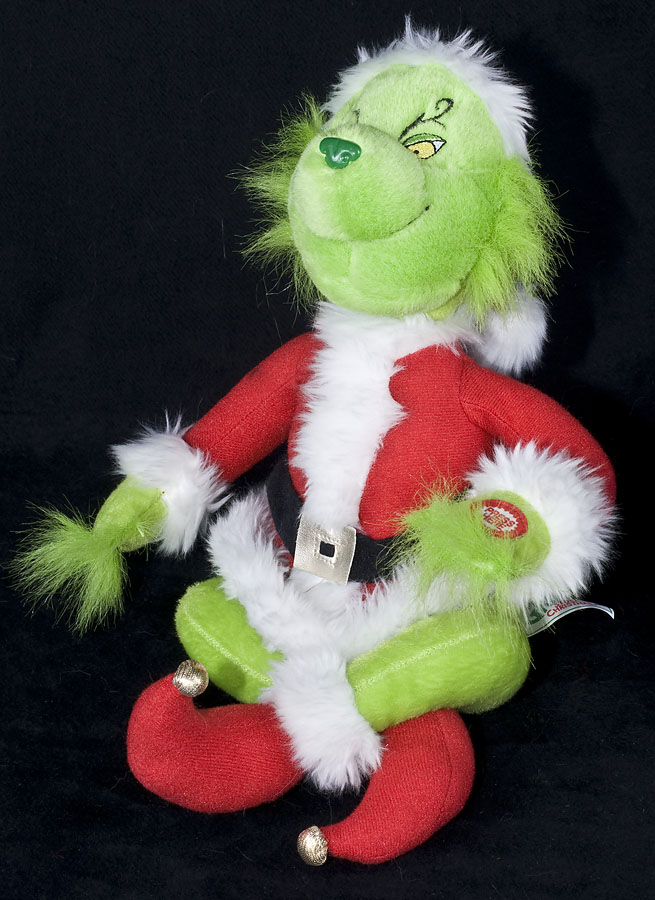 Hills teddy bear co the grinch who stole christmas animated singing