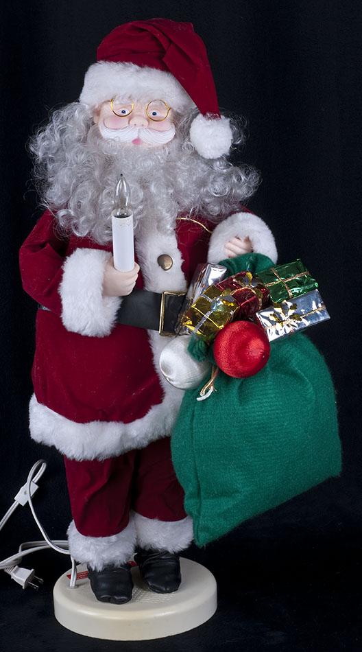 Vtg 90s Holiday Classics 26 Quot Animated Santa Claus