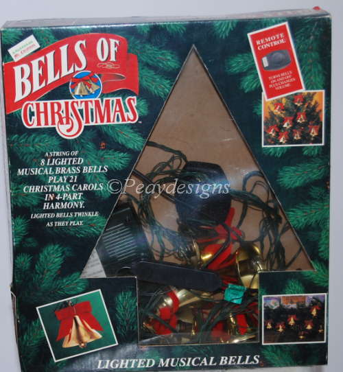 Musical Christmas Lights.Le Chat Noir Boutique Mr Christmas Lighted Musical Bells Of