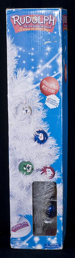 rudolph reindeer island misfit toys white christmas tree