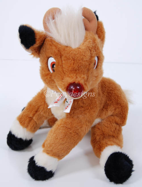 Rudolph Red Nosed Reindeer Toy