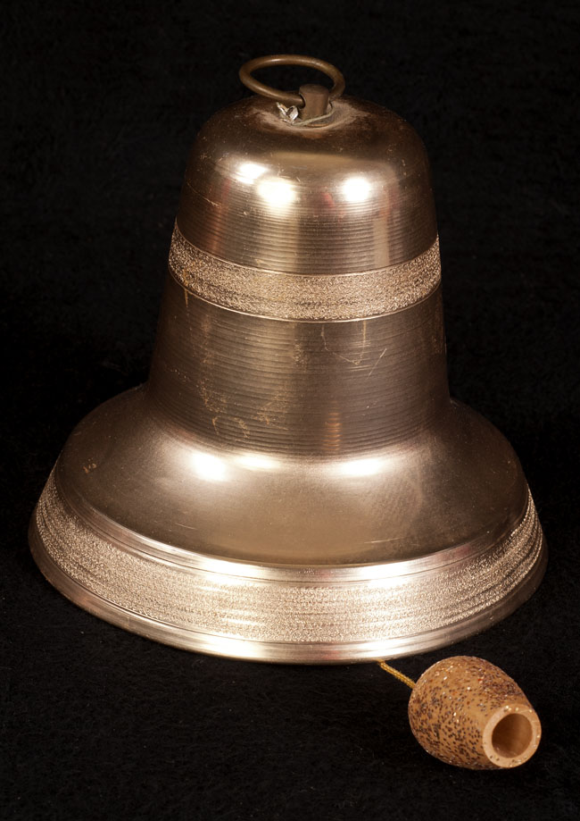 vintage musical christmas bell