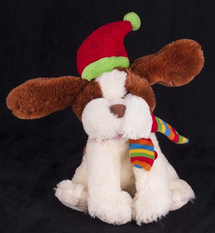 Sound N Light Animatronics Singing Christmas Puppy Dog