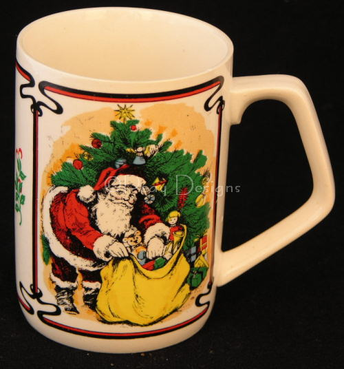 Le Chat Noir Boutique Victorian Christmas Coffee Mug Made In An Vintage Cmvictorianchristmanta