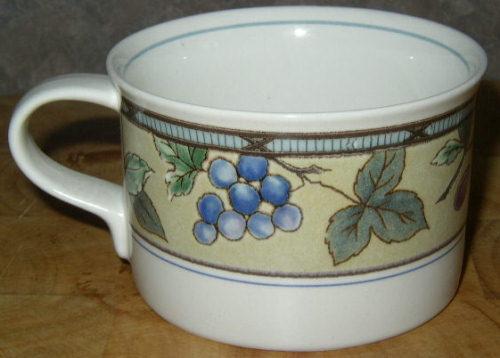 le chat noir boutique mikasa garden harvest cac29 coffee mug cup dinnerware mikasaghcup - Mikasa Garden Harvest