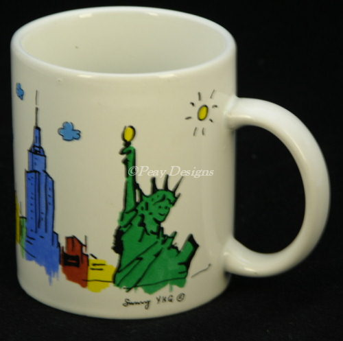 New york city coffee mug description up for sale is this new york city