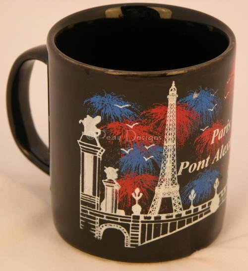 le chat noir boutique paris france pont alexandre iii bridge coffee mug misc coffee mugs. Black Bedroom Furniture Sets. Home Design Ideas