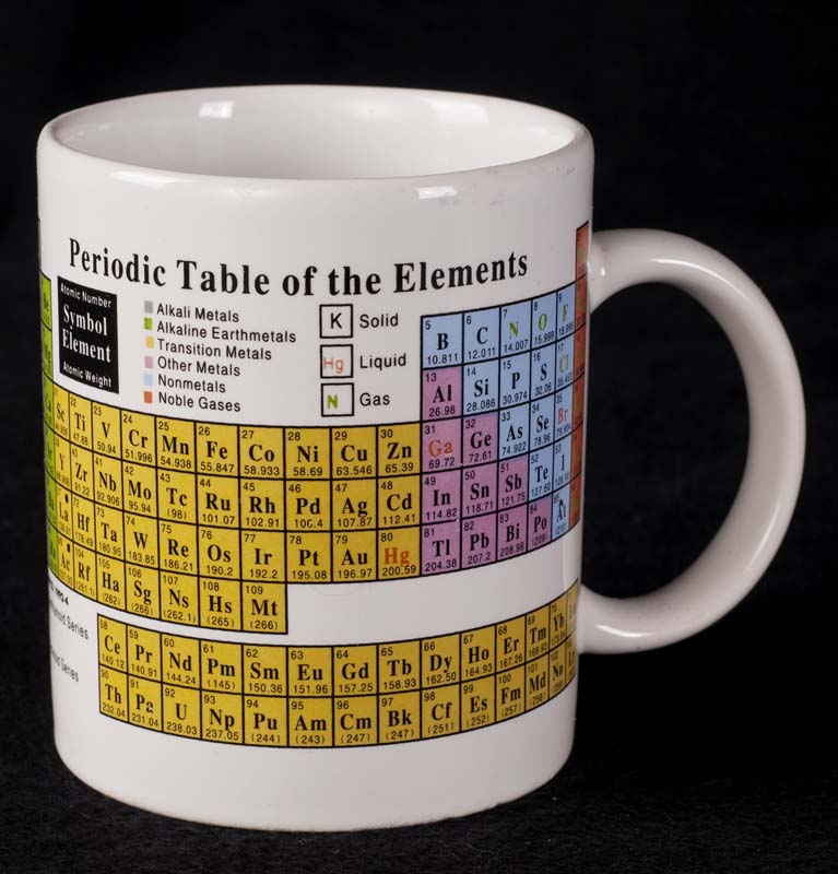Periodic Table Of Elements Chemistry Coffee Mug