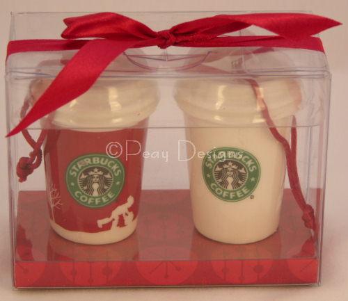 Le Chat Noir Boutique: Starbucks Mini Latte Christmas Ornaments ...