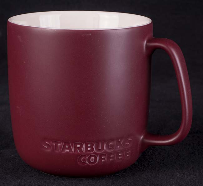 Matte 16 Coffee Finish Mug Oz Starbucks fb67gy