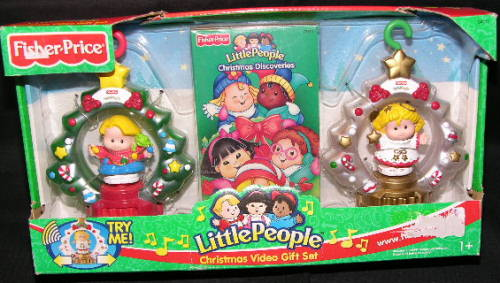 Le Chat Noir Boutique: Fisher Price Little People CHRISTMAS Movie ...