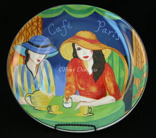 Le Chat Noir Boutique Sango CAFE PARIS #4914 Dinner Plate Furio Sango Misc. Patterns SangoCafeParisDP & Le Chat Noir Boutique: Sango CAFE PARIS #4914 Dinner Plate Furio ...