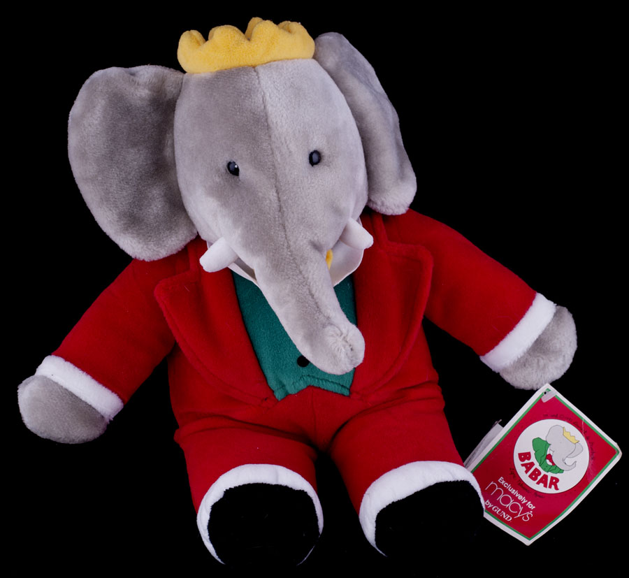 Le Chat Noir Boutique Gund Babar The Elephant Christmas Macy S15