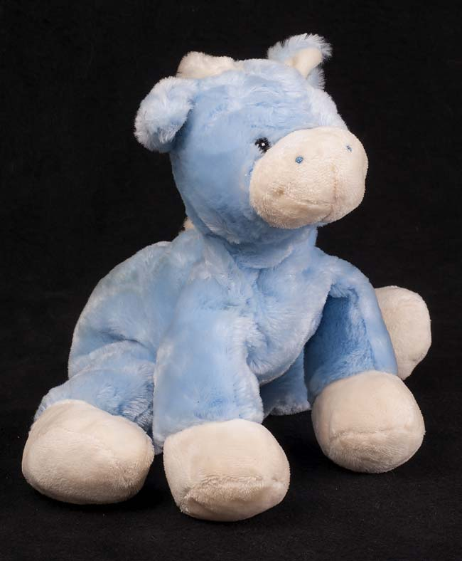 Le Chat Noir Boutique Gund Sweetscoops Runzy 58456 Blue Horse Pony