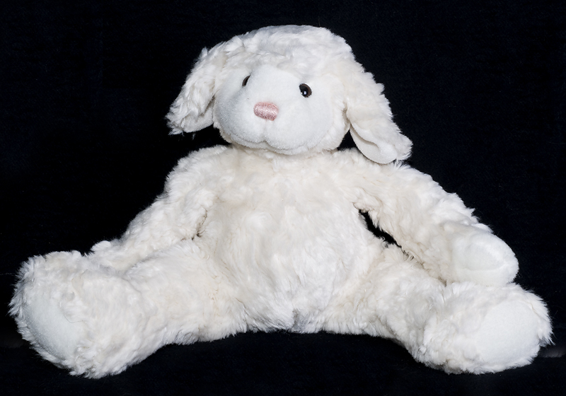 Le Chat Noir Boutique Gund Lambly White Lamb Plush Stuffed Animal