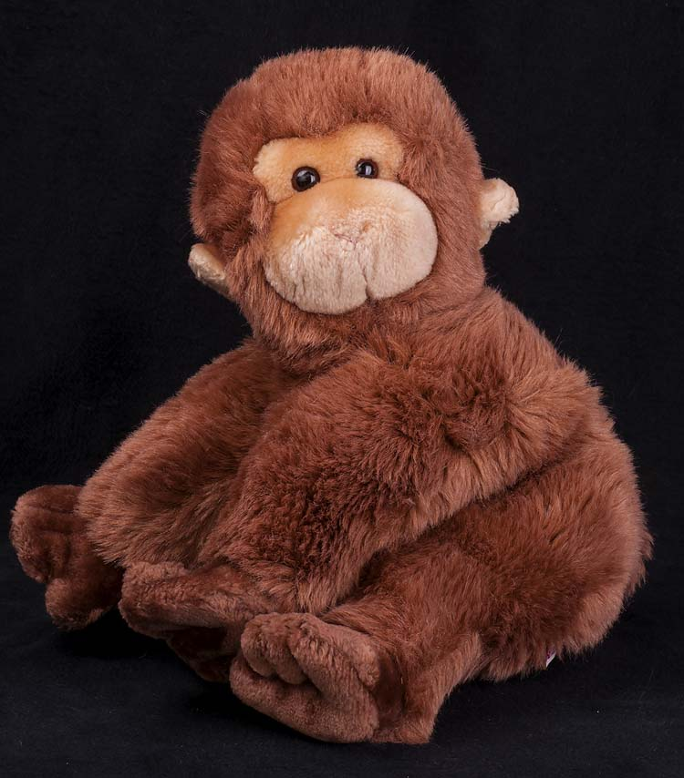 Le Chat Noir Boutique Gund Monkey Peanut 1985 Brown Monkey Plush