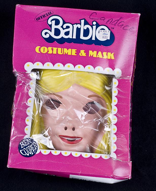 Charming Le Chat Noir Boutique: Ben Cooper BARBIE Halloween Costume U0026 Mask Child  Size 12 14 Vintage 1985, Halloween, HalloweenBenCooperBarbieCostume