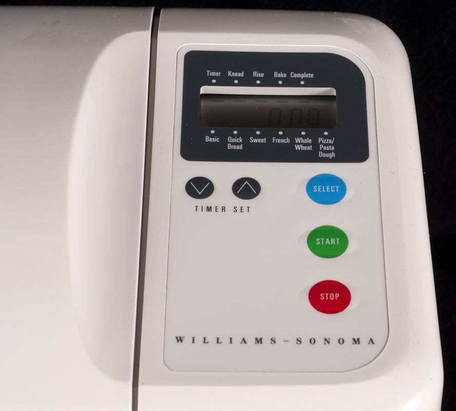 williams sonoma bread machine