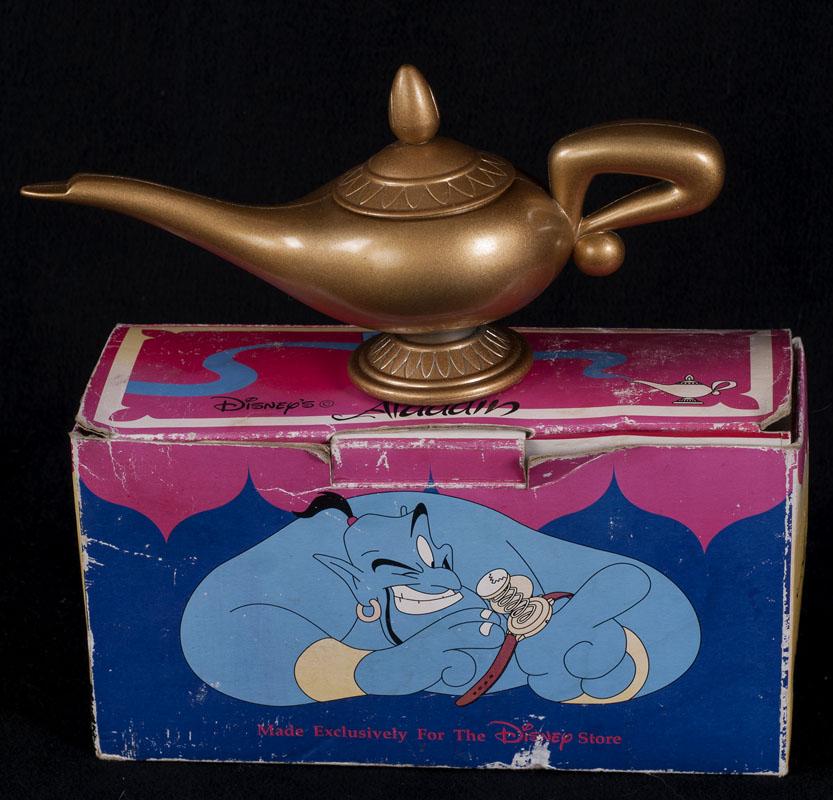 Disney Store ALADDIN Pop Up Watch Wristwatch Genie Brass ...