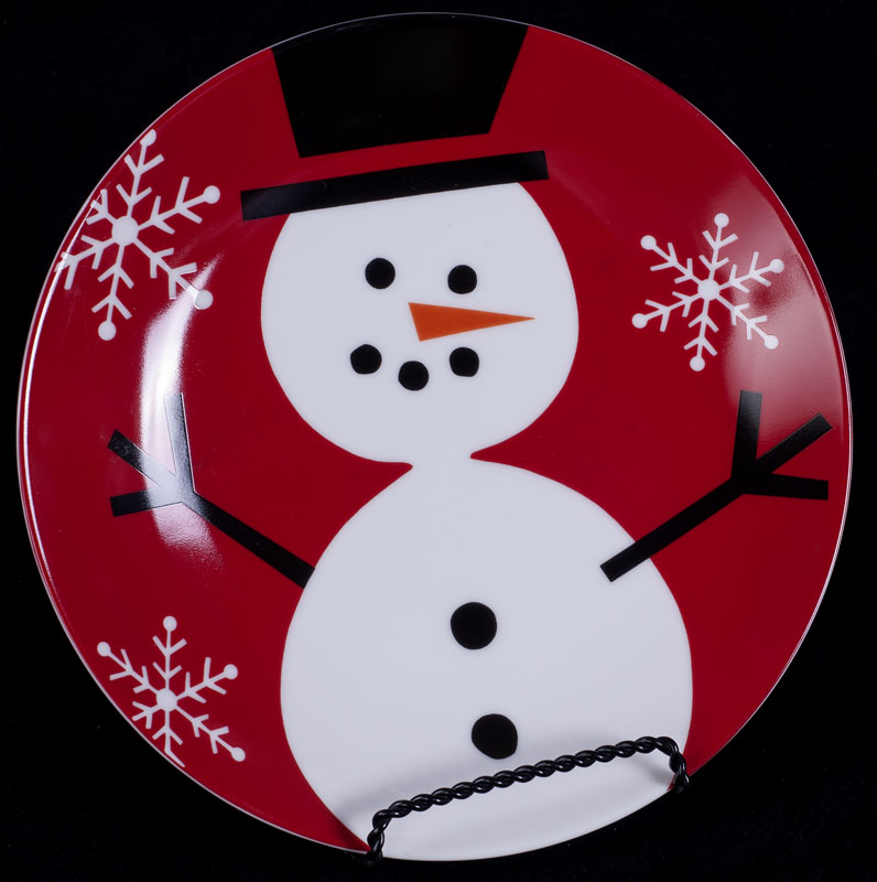 le chat noir boutique crate barrel christmas holiday snowman 8 plate misc dinnerware. Black Bedroom Furniture Sets. Home Design Ideas