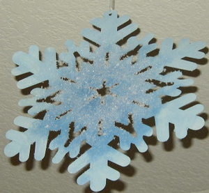 Frosted Snowflake 2