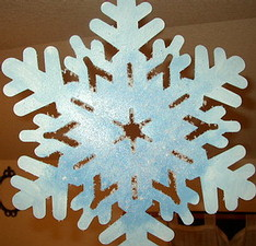 Find out how to create these one of a kind snowflakes here!
