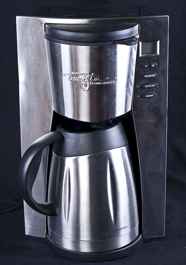 Coffee Maker Barista : Starbucks Aroma Grande 12 Cup Barista Automatic Stainless Coffee Maker eBay