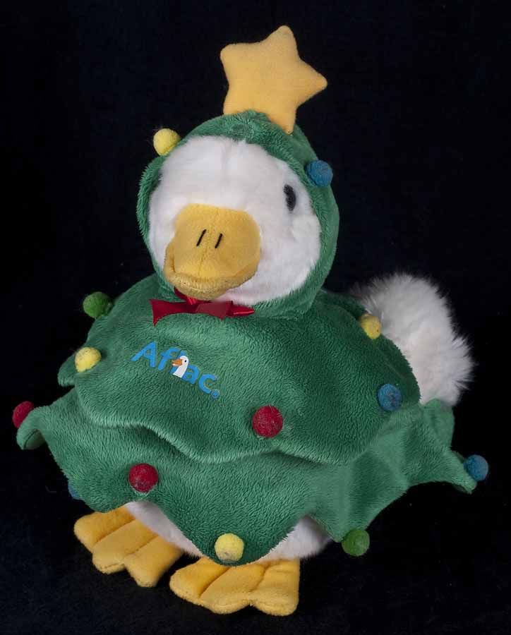 talking light up aflac duck christams 2009 plush - Christmas Duck