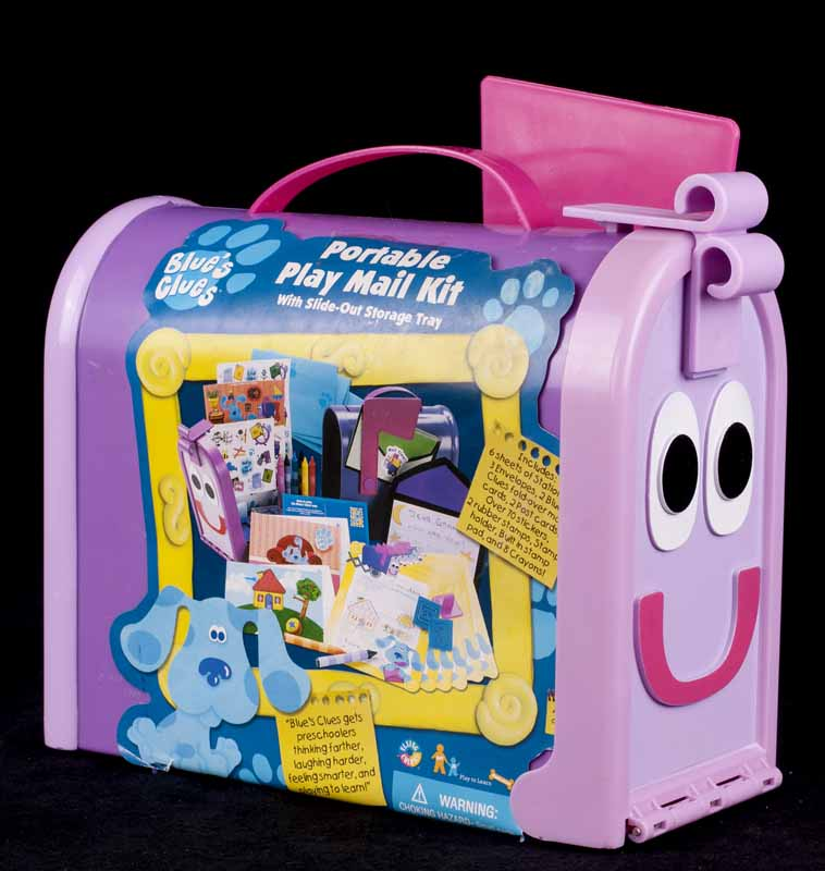 Le Chat Noir Boutique: Blues Clues Portable Mail Box Art ...