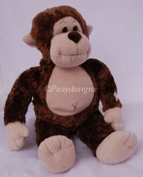 Build A Bear Brown Monkey