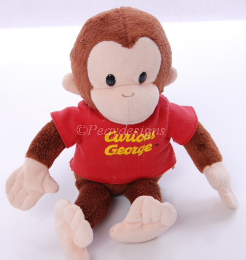Curious George Stuffed Toys 38