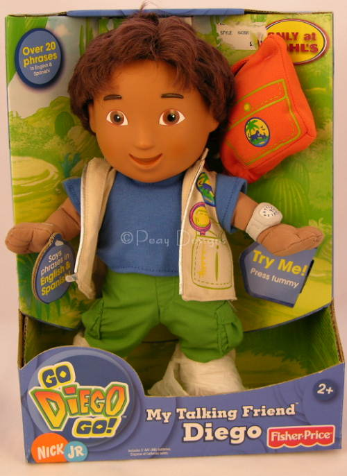 Le Chat Noir Boutique: Fisher Price MY FRIEND DIEGO Talking Doll ...