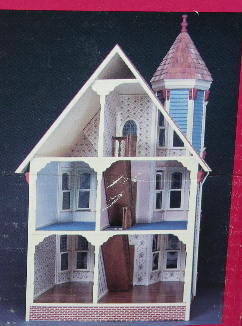 Le Chat Noir Boutique Duracraft San Franciscan Dollhouse