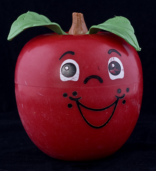 Le Chat Noir Boutique: Fisher Price Happy Apple #435 Chime Toy - 1972 MEDIUM STEM, Fisher Price ...