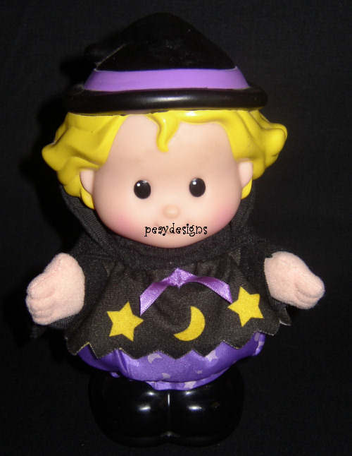 Le Chat Noir Boutique: Fisher Price Little People SARAH THE WITCH ...