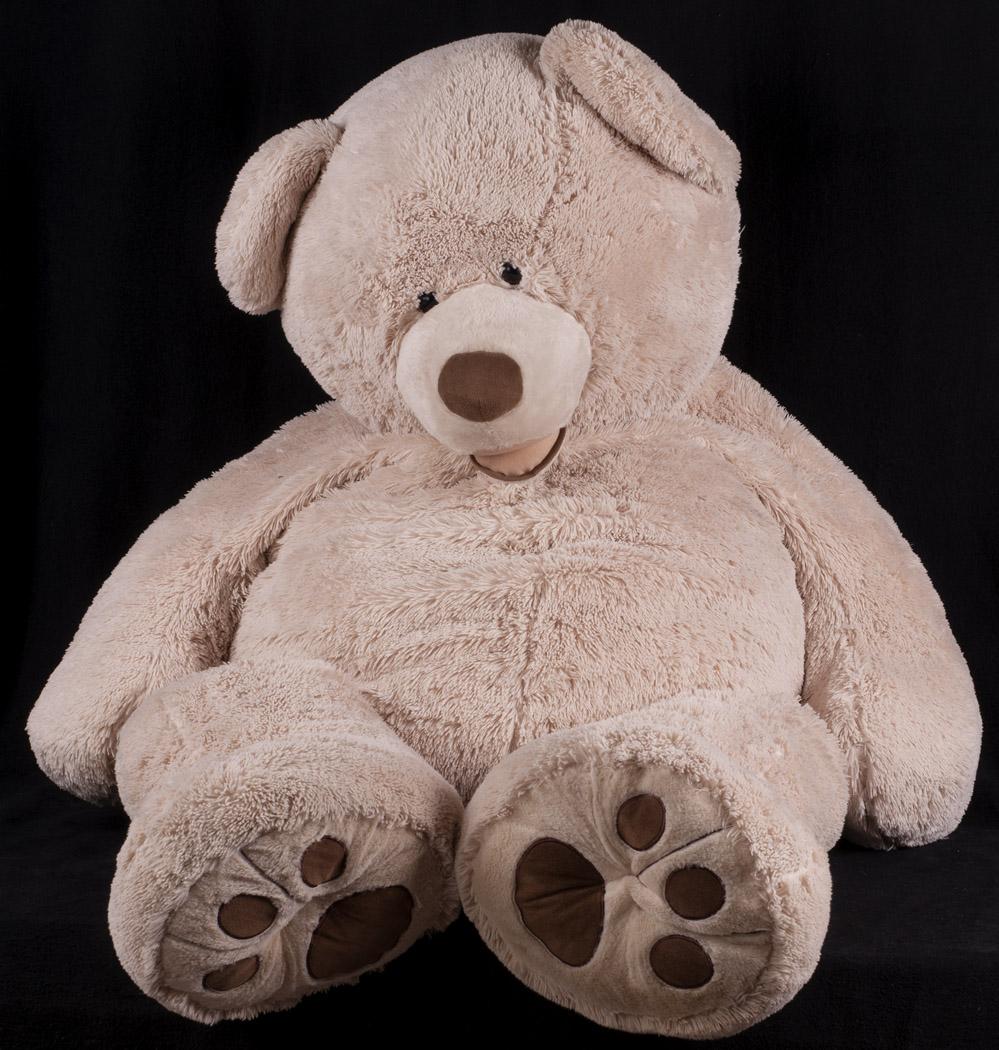 "Giant 58"" Hugfun Teddy Bear Brown Photography Studio Prop Jumbo Plush ... Giant Stuffed Bear"