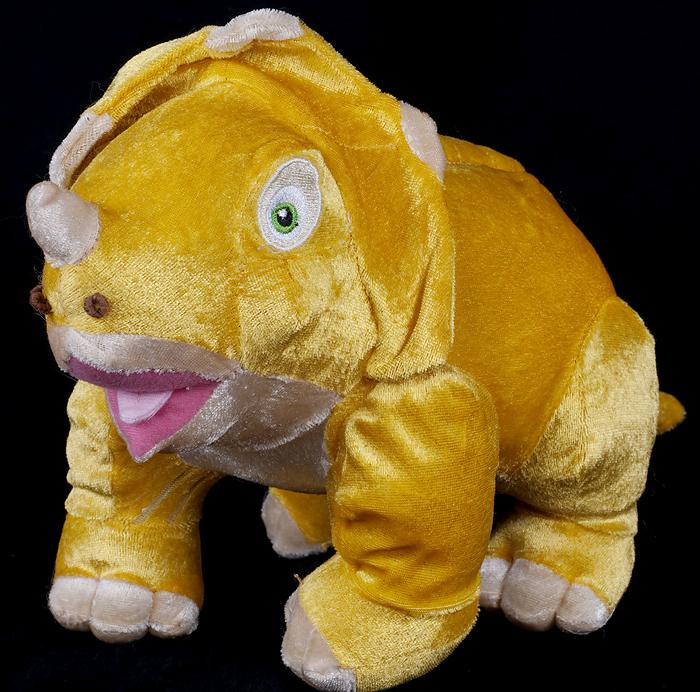 Le Chat Noir Boutique Land Before Time era the Triceratops Dinosaur