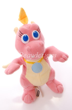 playskool dragon tales flying dragons cassie plush ebay