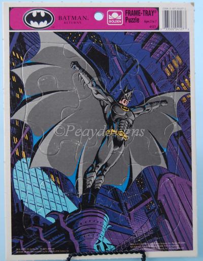 Le Chat Noir Boutique: DC Comics BATMAN RETURNS Frame Tray 12pc ...