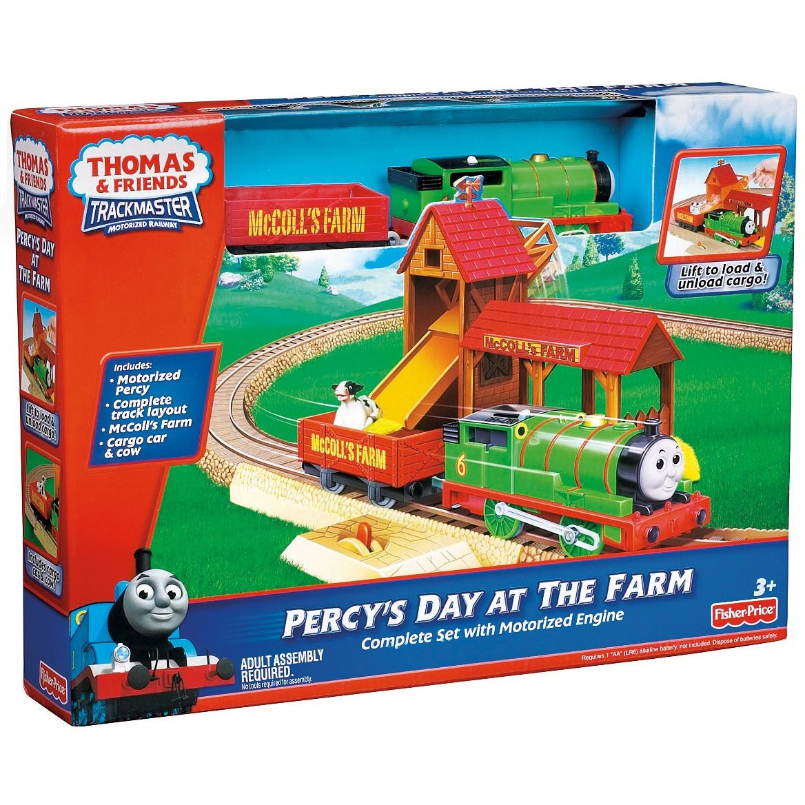 Le Chat Noir Boutique: Fisher Price Percy\'s Day at the Farm Thomas ...