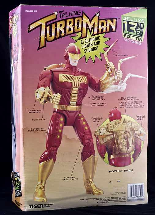 Turbo Man Toy http://www.lechatnoirboutique.com/proddetail.php?prod=TurbomanActionFigureNEW