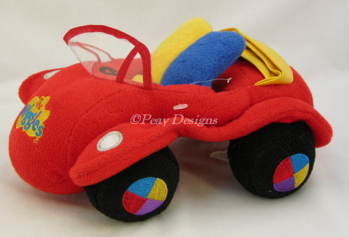Wiggles Big Red Car Toy For Sale