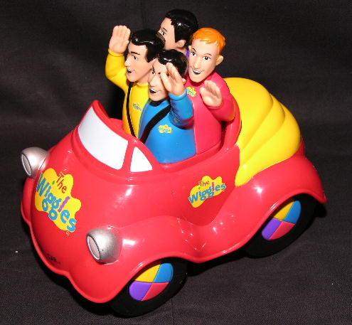 Wiggles TOOT TOOT CHUGA CHUGA Big Red Car Electronic