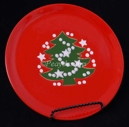 Le Chat Noir Boutique Waechtersbach Christmas Tree Dinner Plate 10 1/4\  Waechtersbach WaechtersbachCTDP & Le Chat Noir Boutique: Waechtersbach Christmas Tree Dinner Plate 10 ...